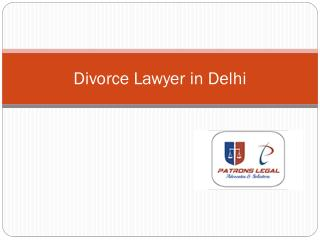 Hire Well Skilled Divorce Lawyer in Delhi in Effortlessness Way