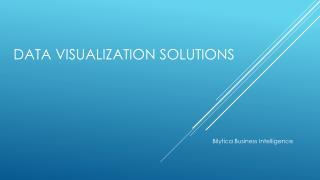 Data Visualization Solutions 2017