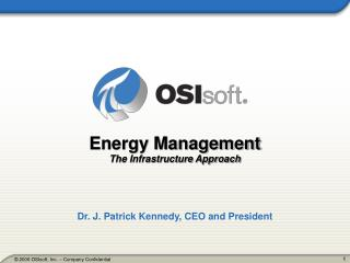 Energy Management The Infrastructure Approach