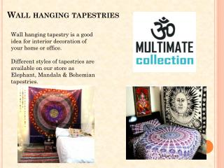 Wall Hanging Tapestries & Bedspreads on Cheap Sale