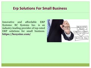 Top Manufacturing ERP Software