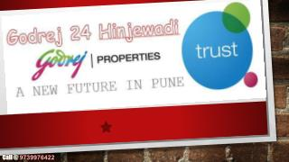 Godrej 24 Hinjewadi New Real Estate Property in Pune