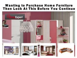 Wanting to Purchase Home Furniture Then Look At This Before You Continue