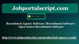 Recruitment Agency Software | Recruitment Software | Open Source Recruitment Software
