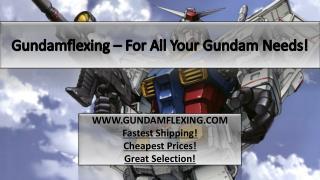 Why Shop Online for Gundam Merchandise