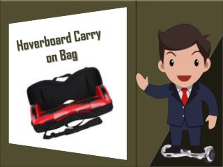 Wheelster Hoverboard Carry on Bag