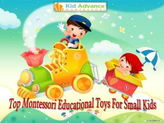 Top Montessori Educational Toys For Small Kids