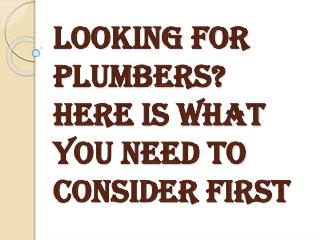 Finding a Good and Reliable Plumbing Service in Surrey, BC
