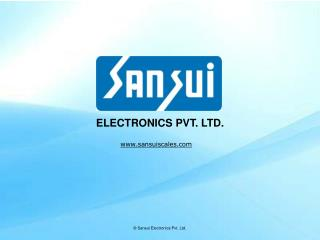 Electronic weighing scale, digital weighing scale, electronic weighing machine manufacturers company - Sansui Electronic