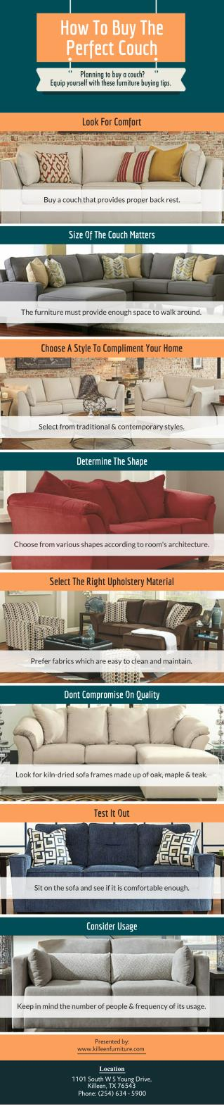 Buying The Perfect Couch