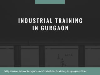 Industrial Training In Gurgaon