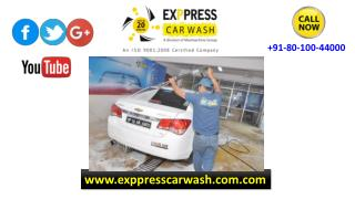 Car Detailing India and Car Wash Services by www.exppresscarwash.com