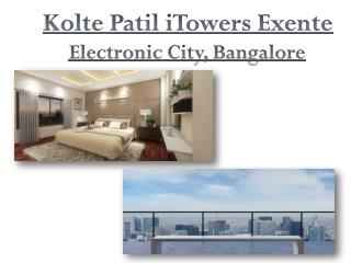 Kolte Patil iTowers Exente in Bangalore | Call: ( 91) 9953 5928 48 and Book