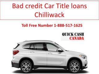 Bad credit Car loans Chilliwack