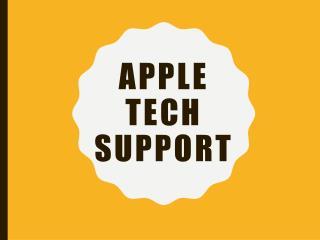 apple tech support