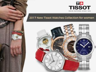 2017 New Tissot Watches Collection for women