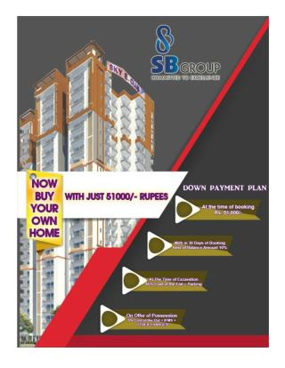 Now Buy Your Own Home with Just 51000/- Rupees.