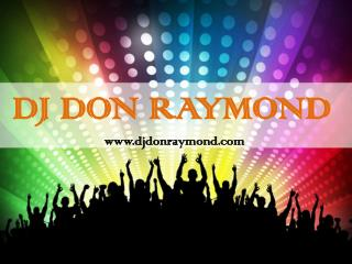 DJ Services for Corporate Events | Dj Don Raymond