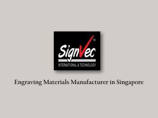 Engraving Material