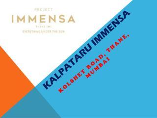 Kalpataru Immensa Mumbai Call 9266629901