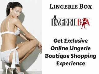 Get High-End Lingerie at the Lingerie Box