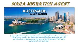 MARA Migration Agent