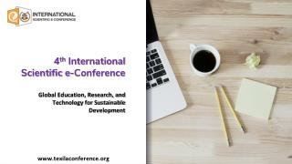4th International Scientific e-Conference