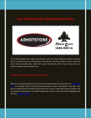 Arndt Martial Arts Shop | Supplies of Martial Arts Equipment