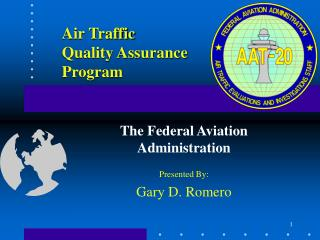 Air Traffic Quality Assurance  Program