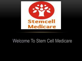 Stem Cell Medicare