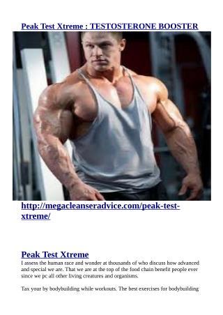 http://megacleanseradvice.com/peak-test-xtreme/