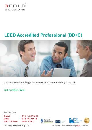 LEED Accredited Professional