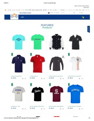 Buy Custom Made T-Shirts for Scindia School