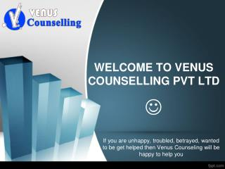 Marriage Counselor in India