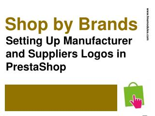 Brand and Manufacturer Logos in PrestaShop