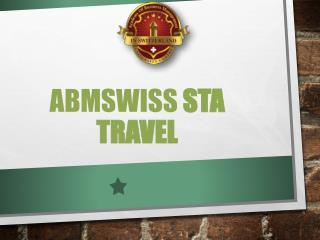 ABMSWISS STA Travel