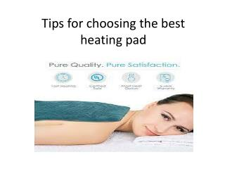 Tips-for-choosing-the-best-heating-pad