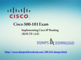 Free 300-101 Training Exam Question - Dumps4download.com