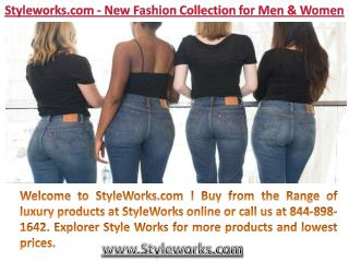 Styleworks.com New fashion collection for men women Styleworks