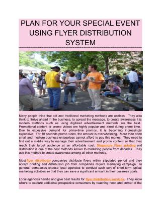 Plan for your special event using flyer distribution.pdf