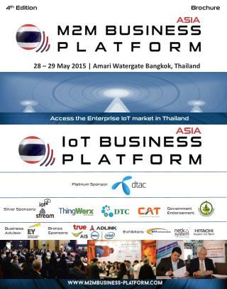 Asia M2M/IOT Business Platform, 28-29 May, Bangkok