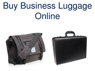 Business Luggage