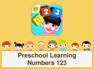 Preschool Learning Numbers 123