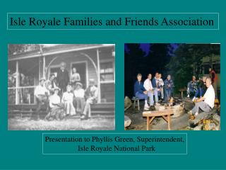 Isle Royale Families and Friends Association