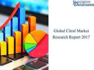 Worldwide Citral Market Analysis and Forecasts 2017