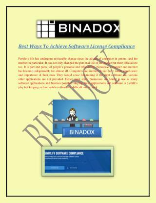Best Ways To Achieve Software License Compliance