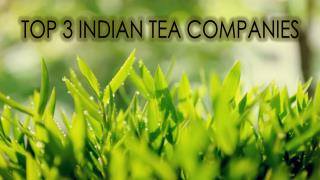 Top 3 Indian Tea Companies