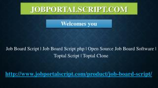 Job Board Script | Job Board Script php | Open Source Job Board Software | Toptal Script | Toptal Clone