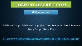 Job Board Script | Job Board Script php | Open Source Job Board Software | Toptal Script | Toptal Clone