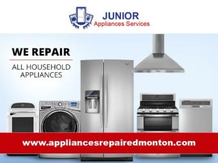 Junior Appliance Repair Edmonton - All Brands